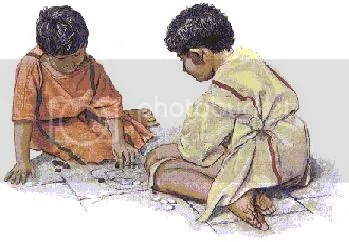 la infancia romana
