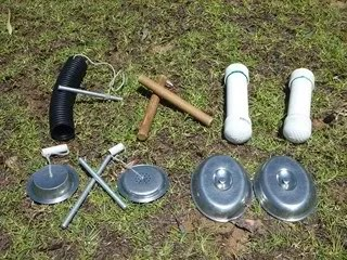 Assorted hand percussion