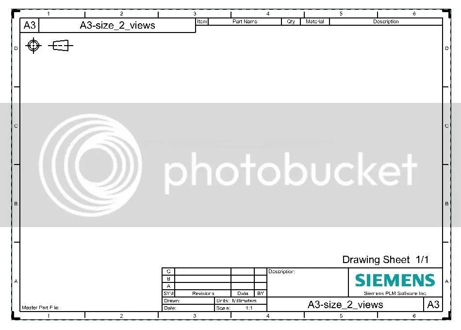 Drafting NX7.5 Image (company logo) within pattern