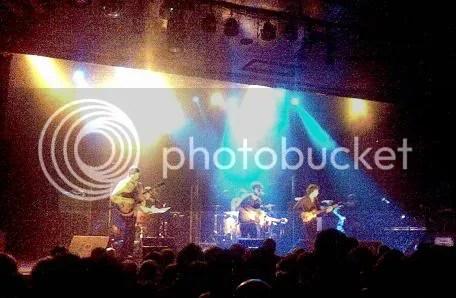 The Sunday Drivers en concierto (Nov 09)
