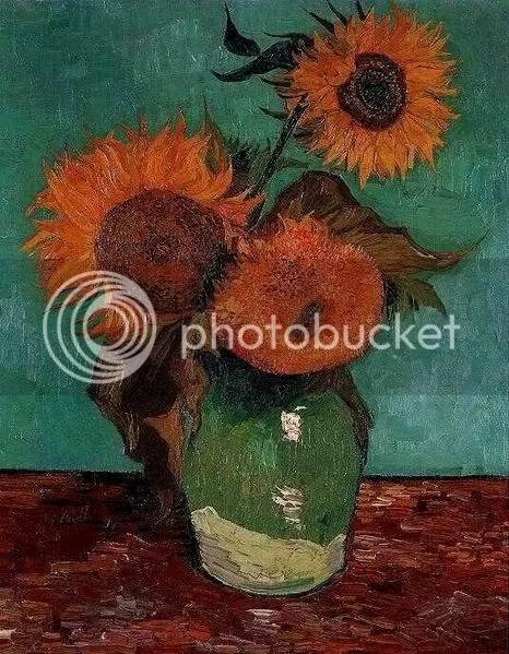 Zonnebloemen, primera versión (1888), Van Gogh