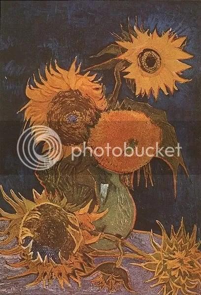 Zonnebloemen, segunda versión (1888), Van Gogh