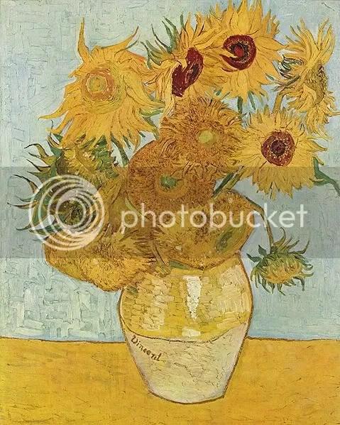 Zonnebloemen, tercera versión (1888), Van Gogh