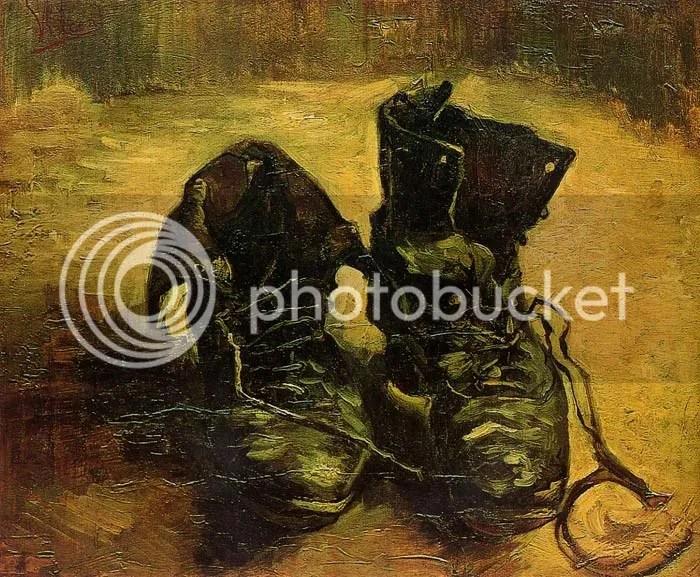 A pair of shoes (1886), Vincent van Gogh