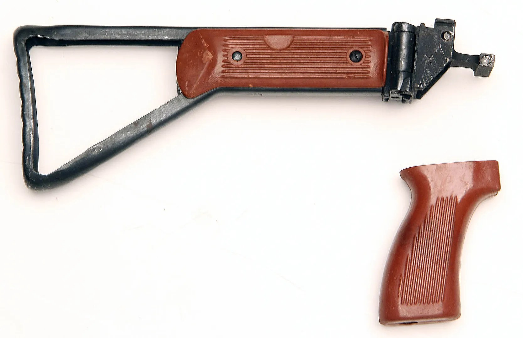 WTS Two Chinese Front Ends Bakelite Folding Stock