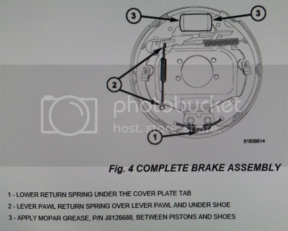 medium resolution of click here for a thread where you can download the 5 249 page 2005 dakota factory service manual it s free go to page 279 where the rear brakes pictures