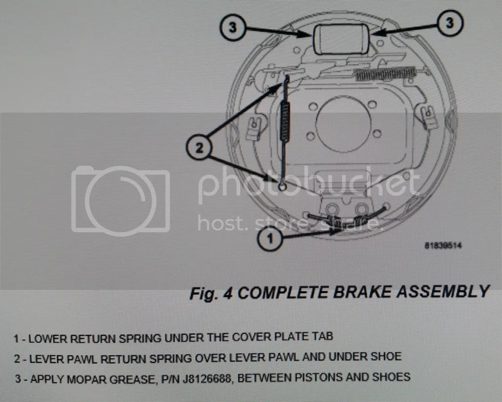hight resolution of click here for a thread where you can download the 5 249 page 2005 dakota factory service manual it s free go to page 279 where the rear brakes pictures