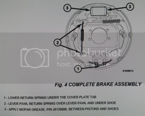 small resolution of click here for a thread where you can download the 5 249 page 2005 dakota factory service manual it s free go to page 279 where the rear brakes pictures