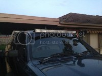 NewHilux.net  View topic - Roof Rack mount - Led Light ...
