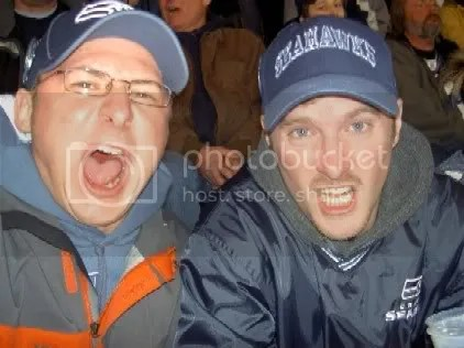 Toby & Brian at the NFC Championship Game