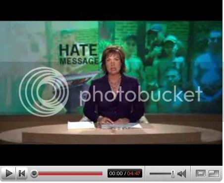 Hate message against Australians