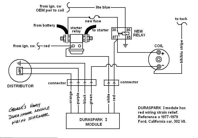 Ford 460 duraspark distributor