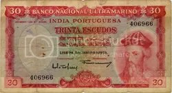 Indo-Portuguese note. That looks like Vasco da Gamma