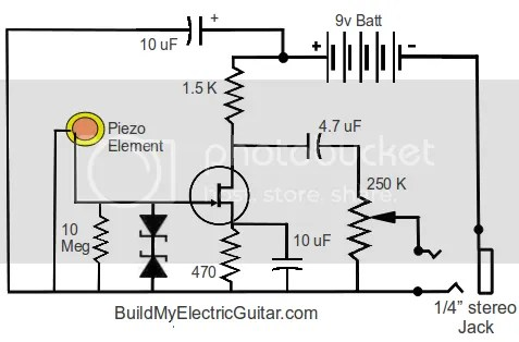 Electric Guitar Effects Microphone Effects Wiring Diagram