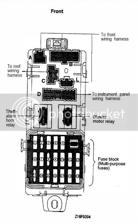 92 dodge stealth fuse box wiring rh westpol co 93 dodge stealth fuse box 1993 dodge stealth fuse box diagram