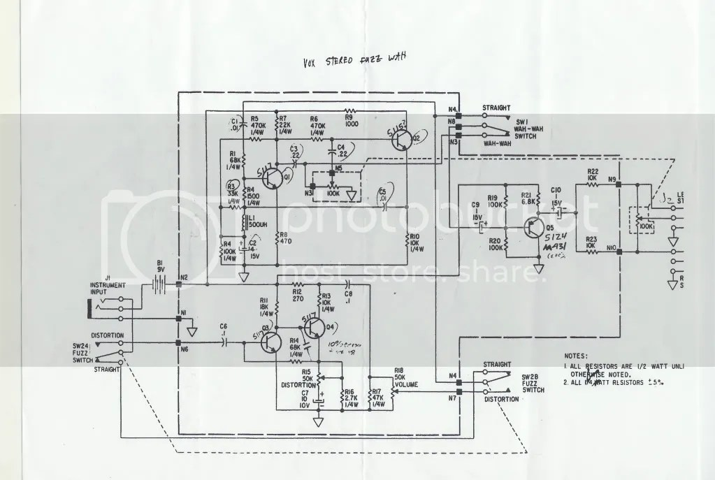 Links to Vox schematics