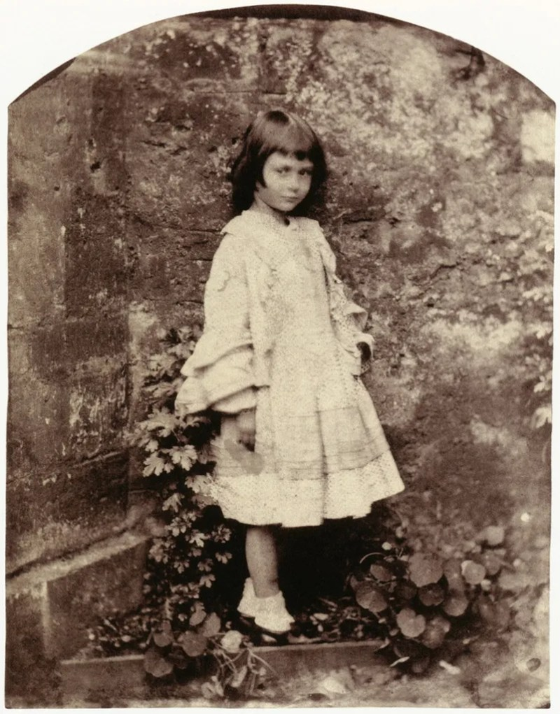 Lewis Carroll (Charles Lutwidge Dodgson) Alice Liddell Dressed in Her Best Outfit Christ Church Studio, Oxford, Summer 1858 From Lewis Carroll, Photographer
