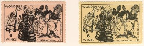 Gerald King - Wonderland Stamps - 1st Printing - Catalog no. 16