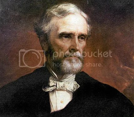 Jefferson Davis, painted by Daniel Huntington in 1874