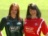 Walsall FC Admiral 2009-10 Home and Away Kits