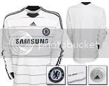 Chelsea adidas 09/10 Third Kit