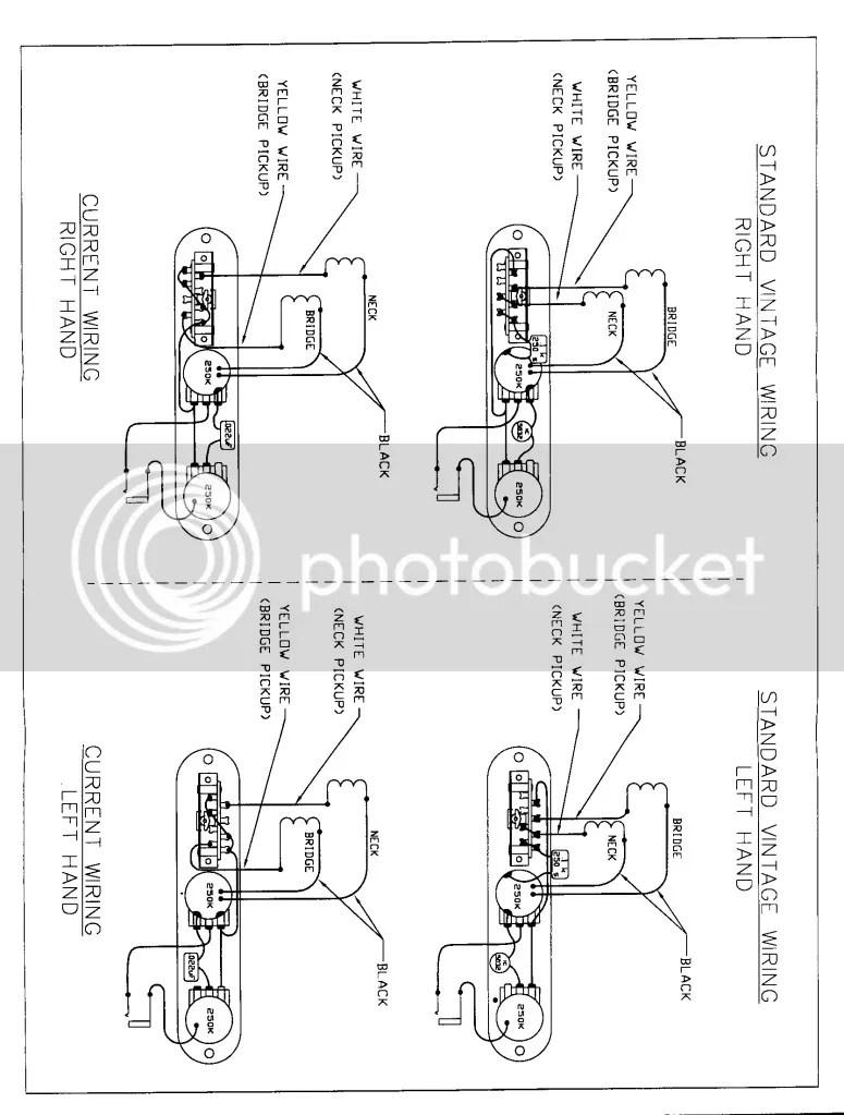 medium resolution of 1952 reissue telecaster wiring diagram question about wiring diagram u2022 reissue 52 telecaster butterscotch blonde fender 52 reissue telecaster wiring