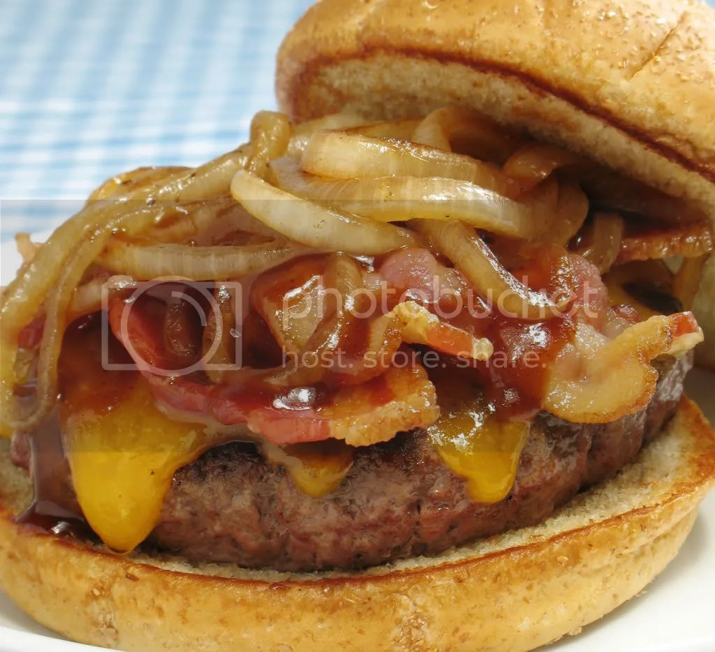Bacon Cheeseburger Pictures, Images and Photos