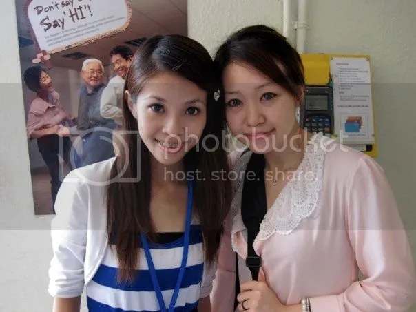 me and xinyi!