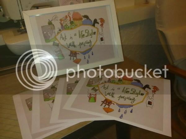 Prints van mijn tekeningen