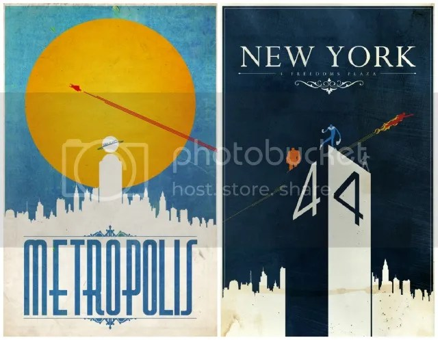 Pretty Things - Vintage Superhero Posters