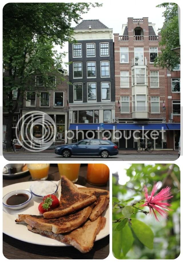 Amsterdam - Breakfast & scheve huisjes