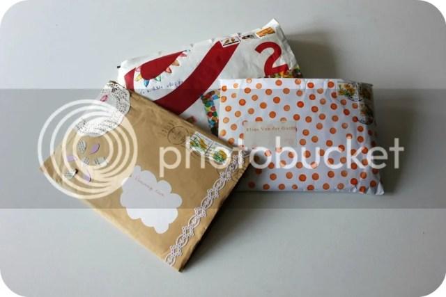 SWAP - inkomende pakjes