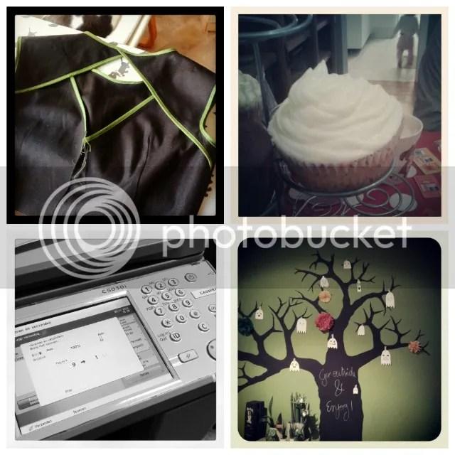 Vorige Week - Belladone jurkjes, Cupcakes, kopies & Halloween