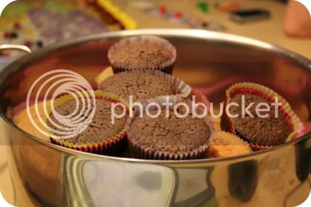 Vorige Week - Cupcakes eten