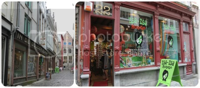 [Plutomeisje's Ghent City Guide] Shopping - ZsaZsa Rouge
