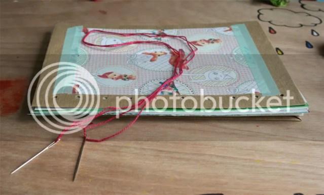 DIY Booklet - Step 4: Binding the booklet