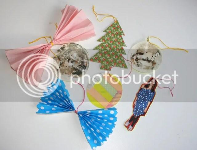 Plutomeisje's 5 minuten kerstdecoratie
