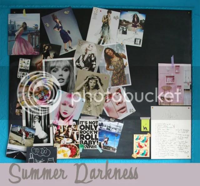 Moodboard - Summer Darkness