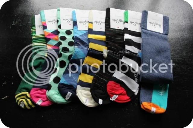 Happy Socks bestelling die ik eindelijk kan beginnen aandoen