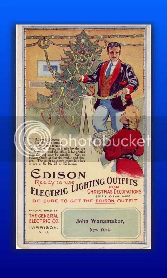 Edison Holiday Card