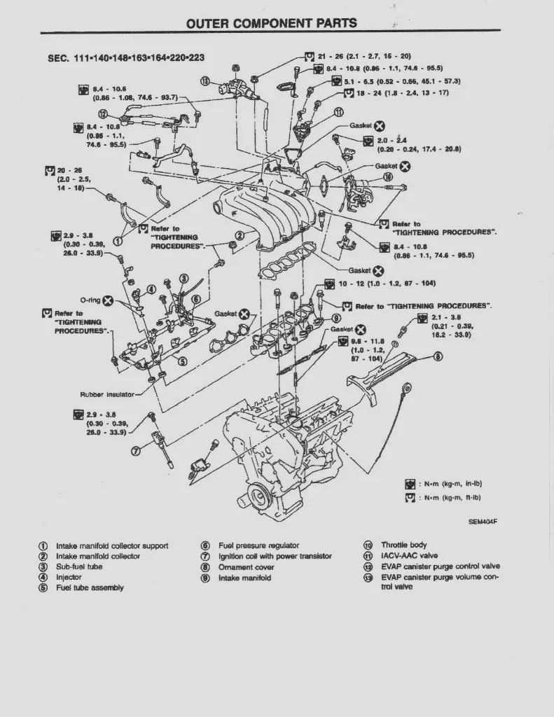 1989 nissan maxima engine diagram