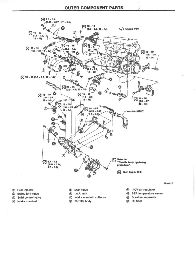 Ka24de Engine Diagram