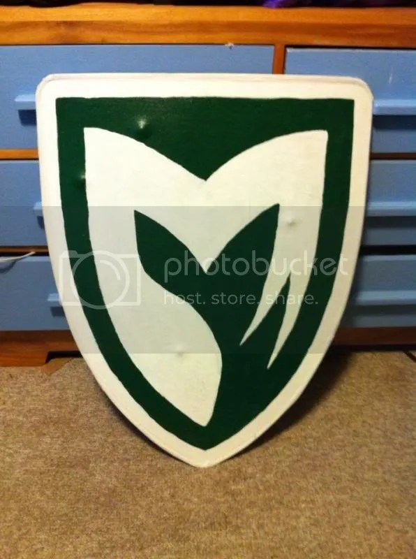 The finished tournament shield.