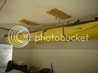 Kayak Storage / hang from ceiling - TexasKayakFisherman.com