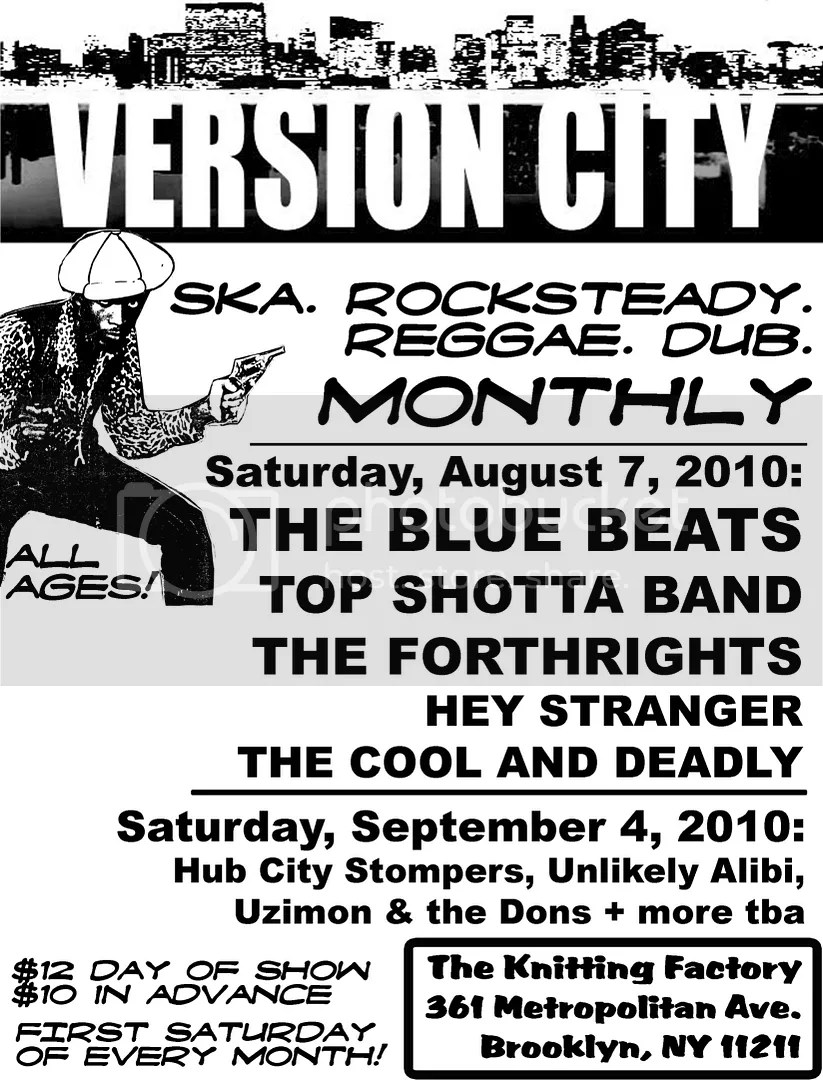 Version City Monthly Flier