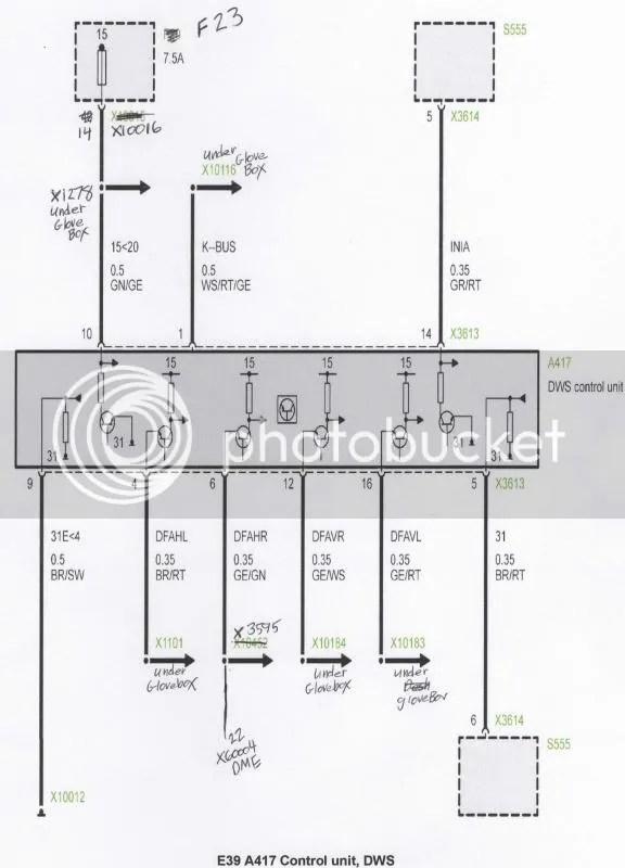 DWS system for E38