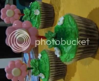 Cupcake-flower