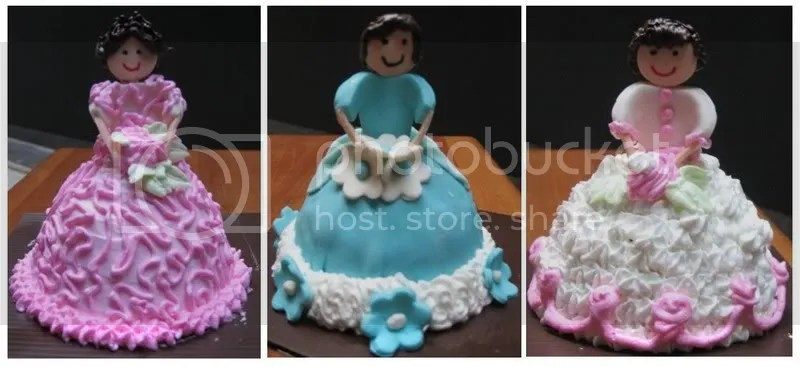 Princess mini cakes