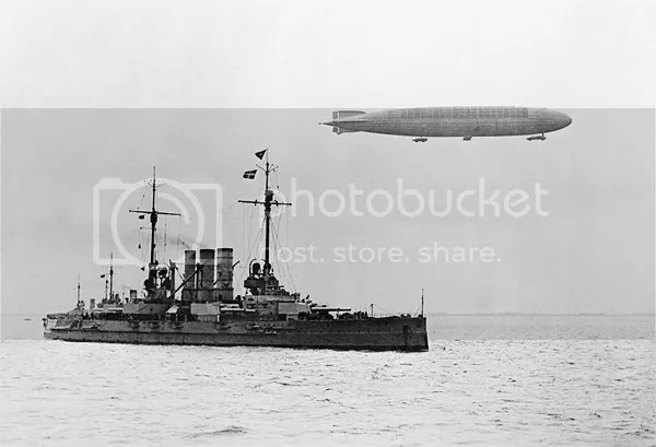 Zeppelin and dreadnought