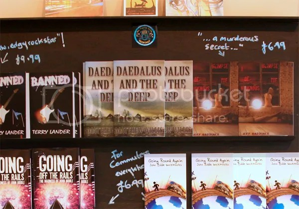 Daedalus and the Deep on bookshelves